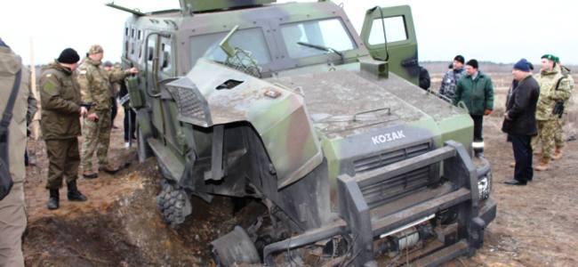Бронеавтомобіль «Козак-2»