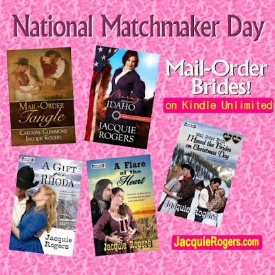 Mail-Order Brides Books by Jacquie Rogers