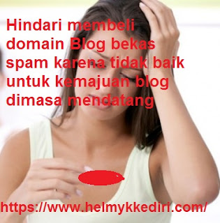 Domain bekas spam