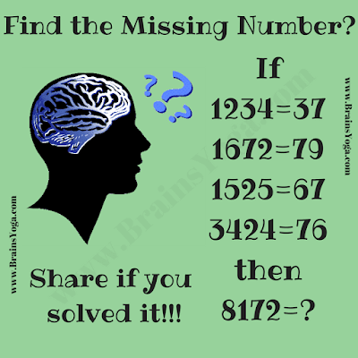 Easy Logical Brain Teaser to tickle your brain