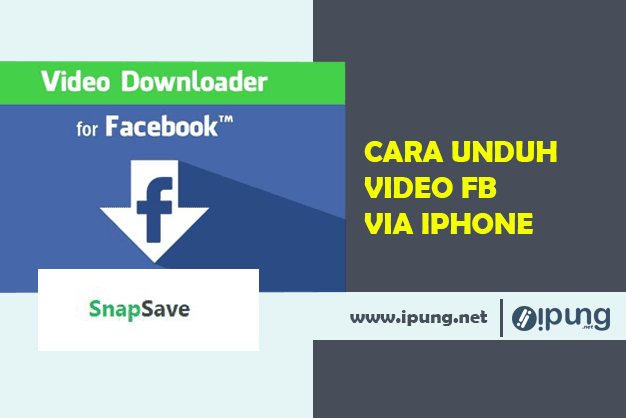 Cara Mengunduh Video Facebook Di Iphone dan Ipad Anda