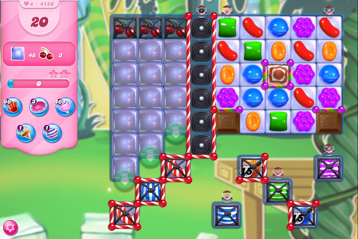 Candy Crush Saga level 4126