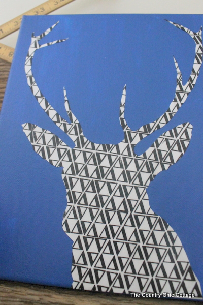 deer silhouette art