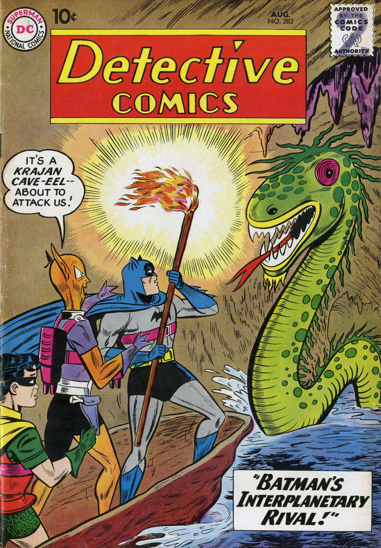 Detective Comics (1937) 282 Page 1
