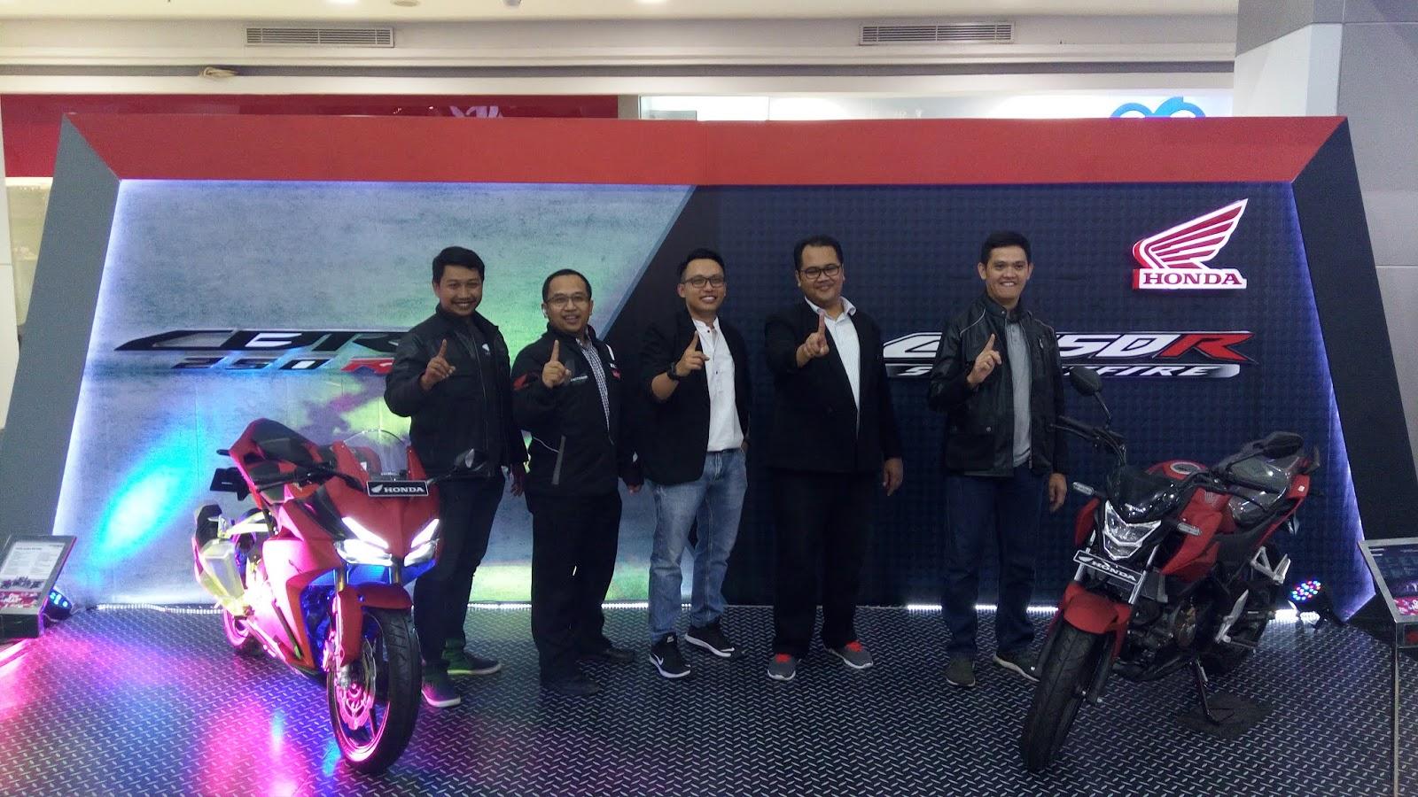 New Honda CBR250RR dan New Honda CB150R StreetFire Resmi Hadir di Lampung