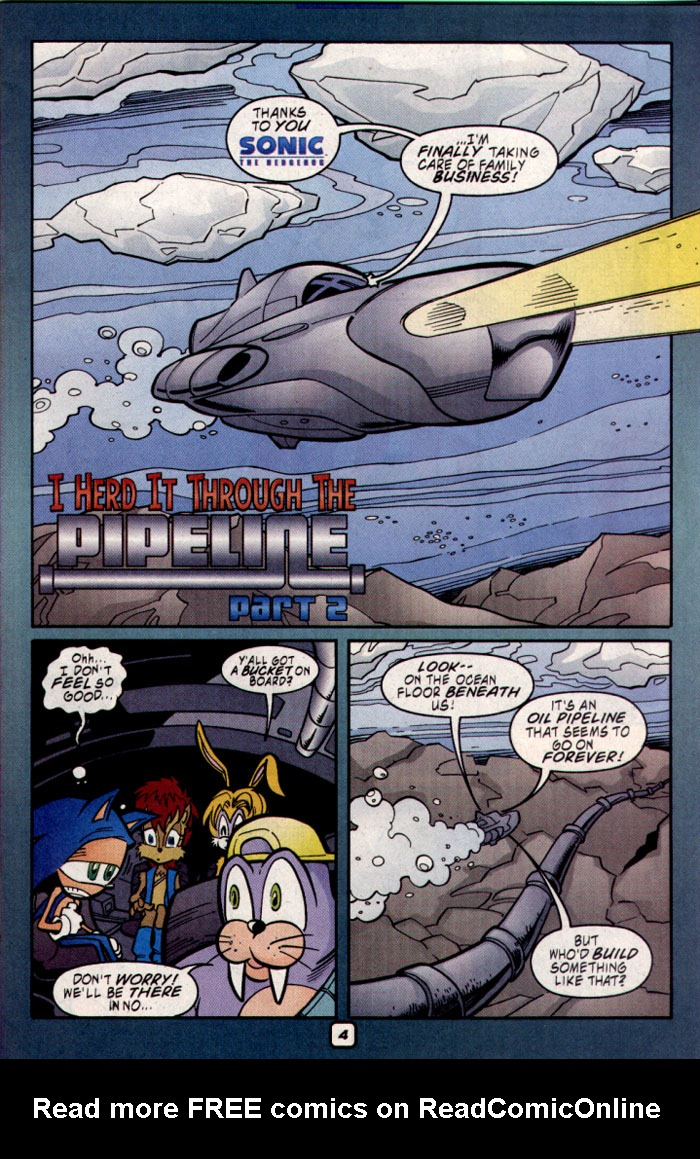 Read online Sonic The Hedgehog comic -  Issue #109 - 6