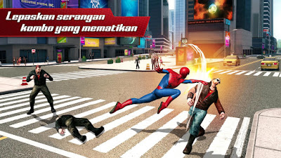 Screenshot Game The Amazing Spider Man 2 Android