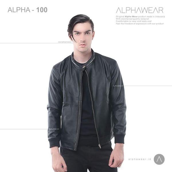 alphawear walkin leather jacket