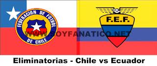 Partido Chile vs Ecuador Clasificatorias 2016