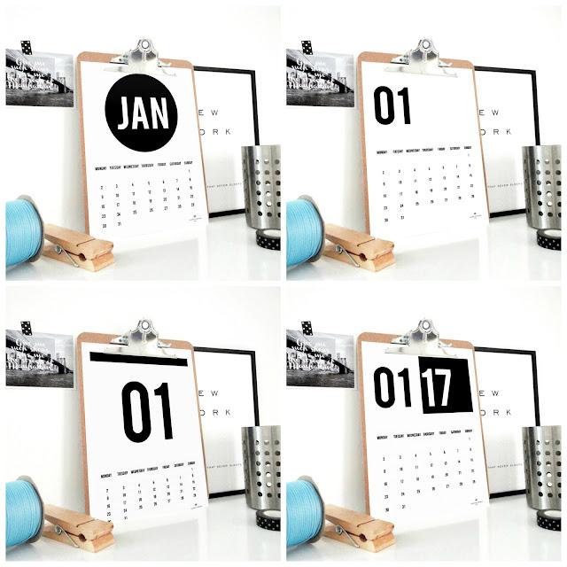 digital calendar, 2017 calendar, sacred and profane designs, etsy shop, etsy calendar, office decor, handmade, dorm decor,