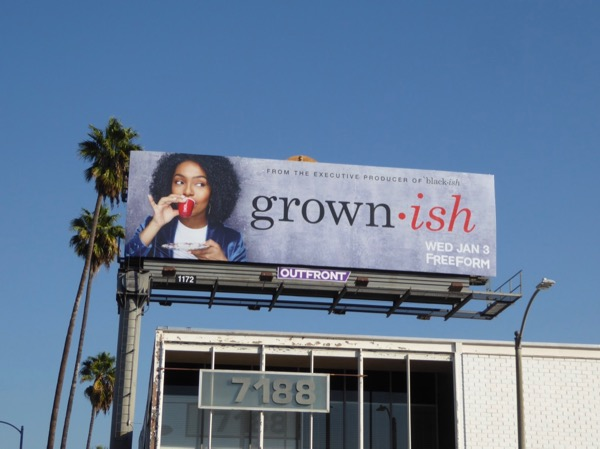 Grown-ish Freeform series billboard