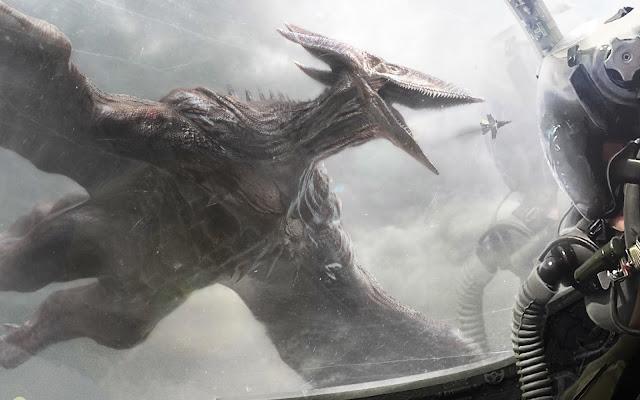 Papel de parede grátis Filme Godzilla 2 O Rei dos Monstros Monstro Rodan para PC, Notebook, iPhone, Android e Tablet.
