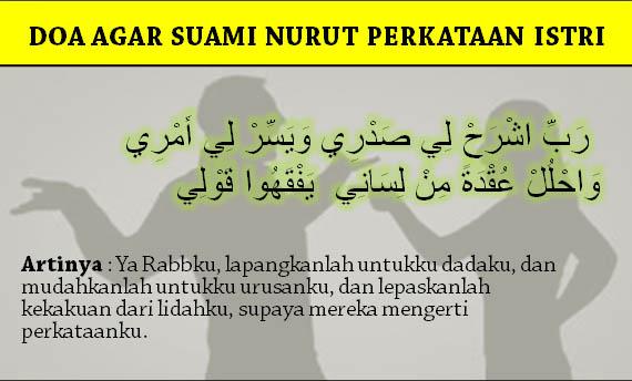 Doa Agar Suami Nurut Perkataan Istri
