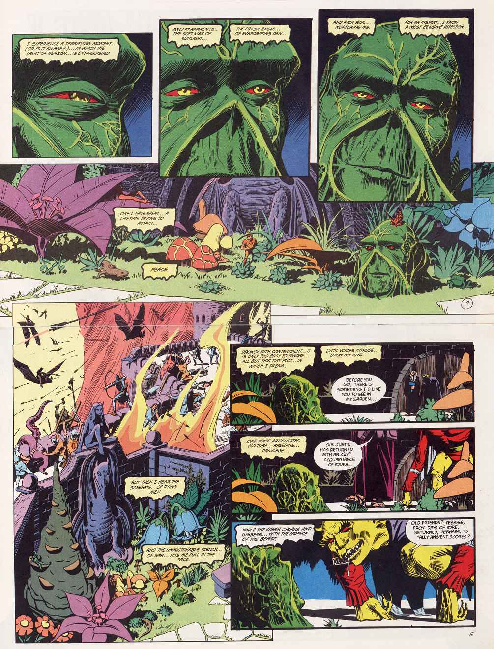 Swamp Thing (1982) Issue #87 #95 - English 4