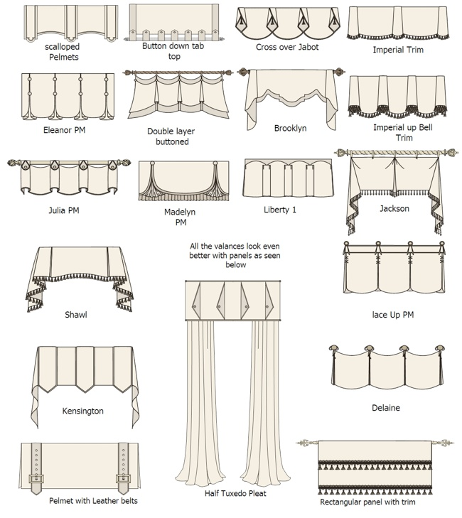 What Are Different Types Window Curtains