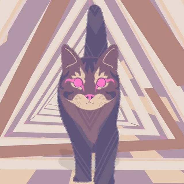 C A T Aesthetic *** Walking Cat *** Wallpaper Engine