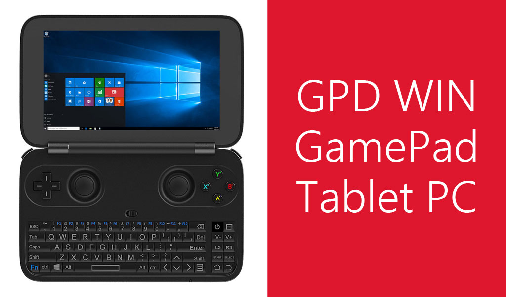 GPD WIN GamePad Tablet PC