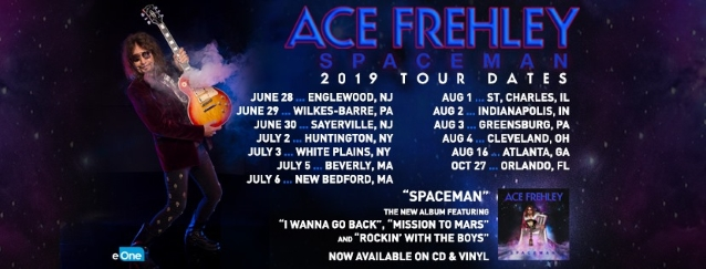 VIDEO: Ace Frehley at Kirby Center in Wilkes-Barre, PA - June 29, 2019