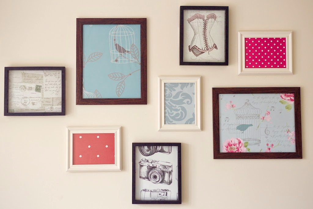 Diy Adding Colour To Your Walls A Cheap Diy Project The