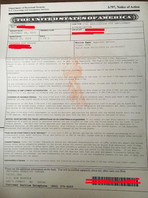 J Ead Sample Letter