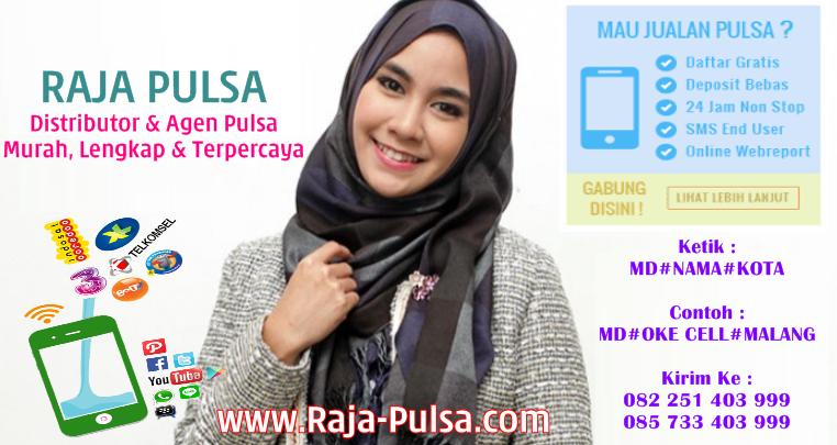 Raja-Pulsa.com adalah Web Resmi Server Raja Pulsa CV Raja Multi Solusindo