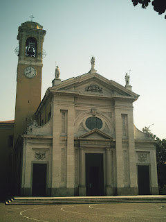 The Prepositurale church in Parabiago