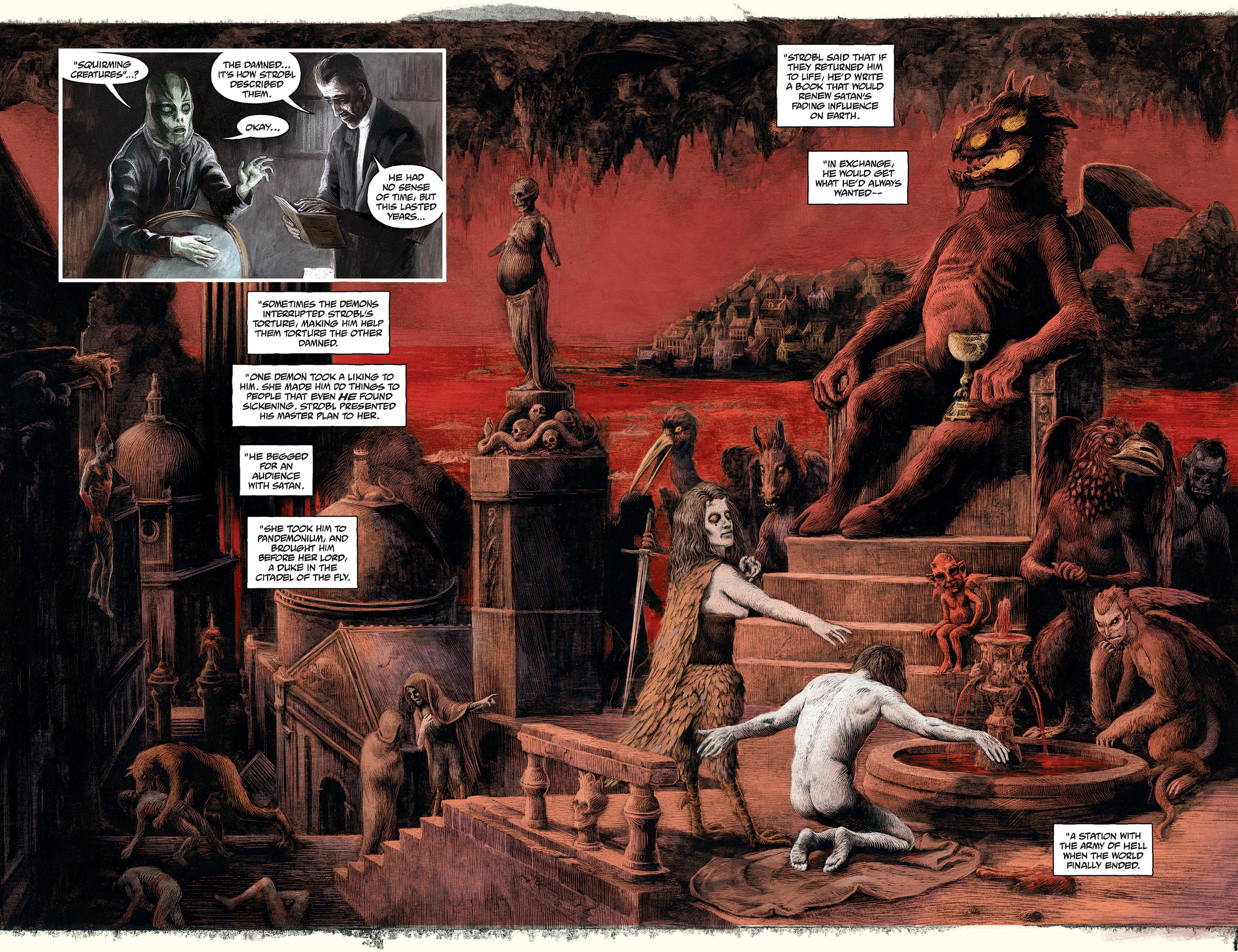 Read online Abe Sapien comic -  Issue #30 - 17