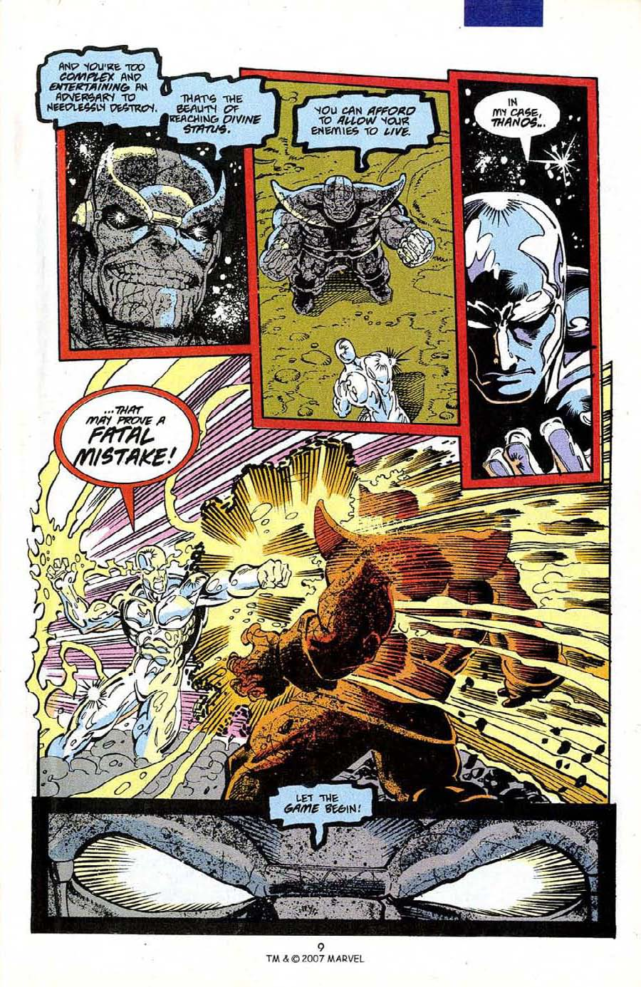 Read online Silver Surfer (1987) comic -  Issue #50 - 11