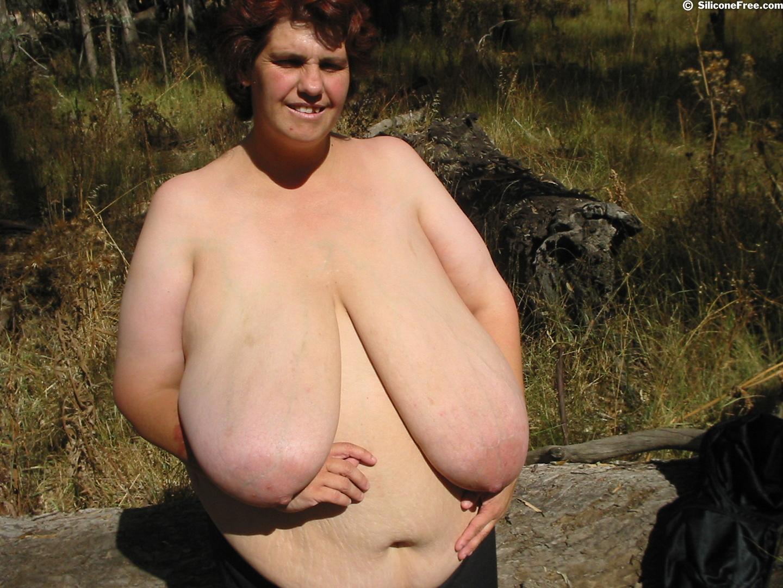 Big Busty Natural Boobs