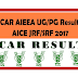 ICAR Declared AIEEA UG, PG Result 2017 & Check Cut-Off