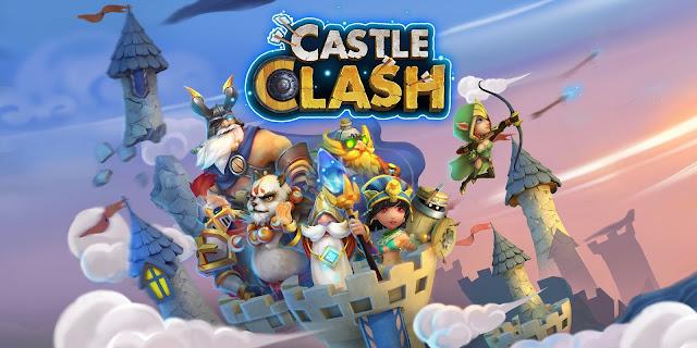 تحميل لعبة كاستل كلاش للموبايل الاندرويد برابط مباشر download Castle Clash اخر اصدار