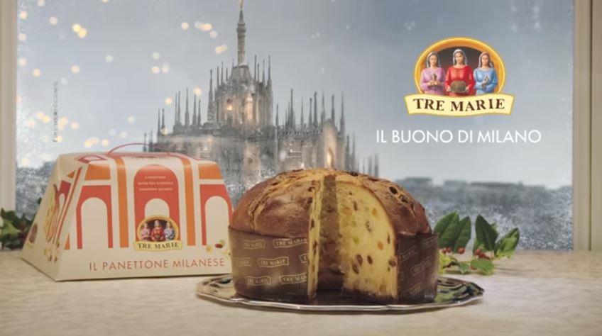 Canzone Galbusera pubblicità Panettone tre maria quello autentico Natale - Musica spot Novembre 2016