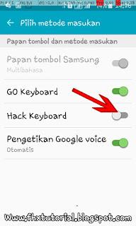 cara melihat history ketikan keyboard android