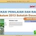 Aplikasi Raport Kurikulum 2013 Revisi Paling Baru, Paling Lengkap, Paling Sesuai, Mantap!!!