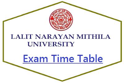 LNMU Exam Program 2020