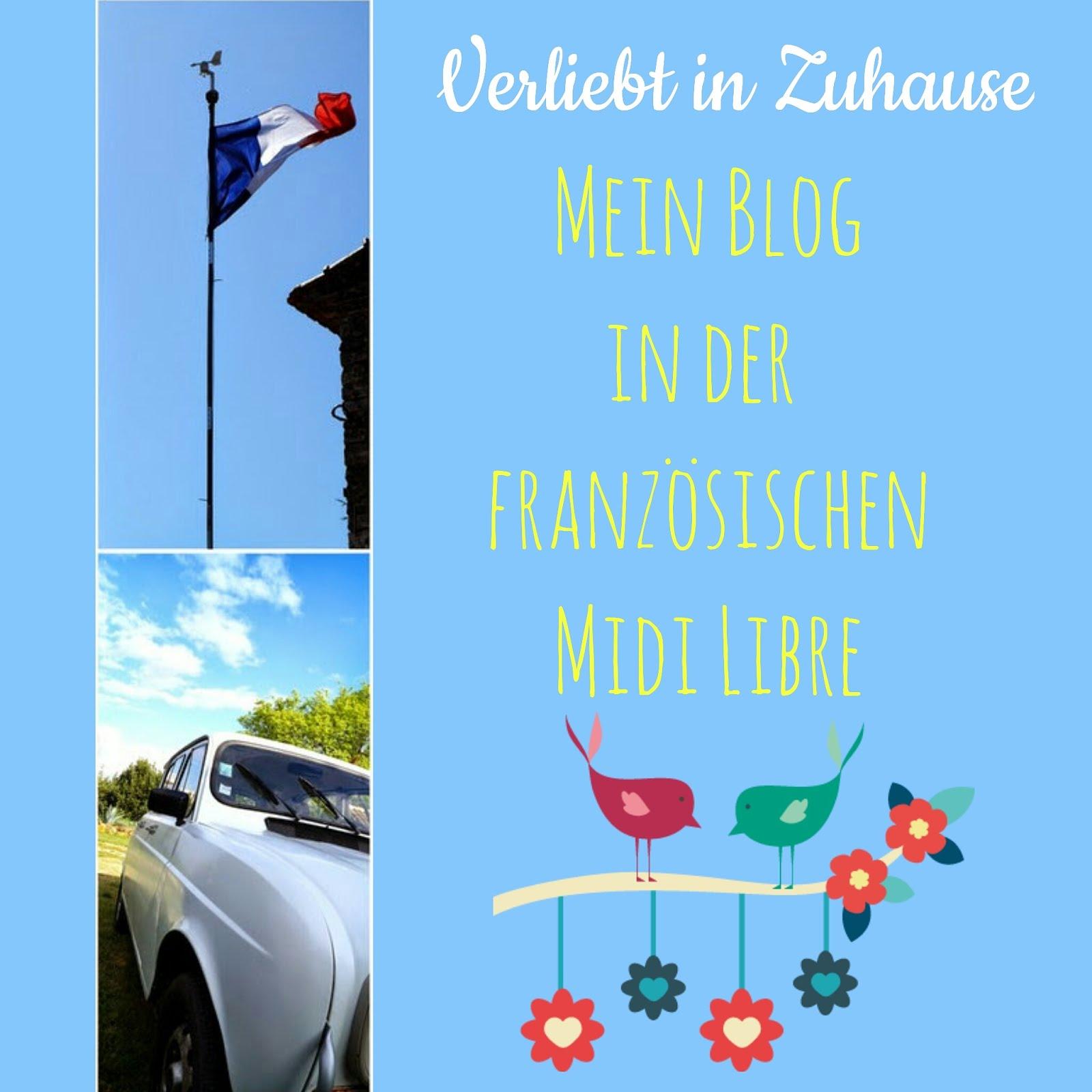"""Mein Blog in der französischen """"Midi Libre"""""""