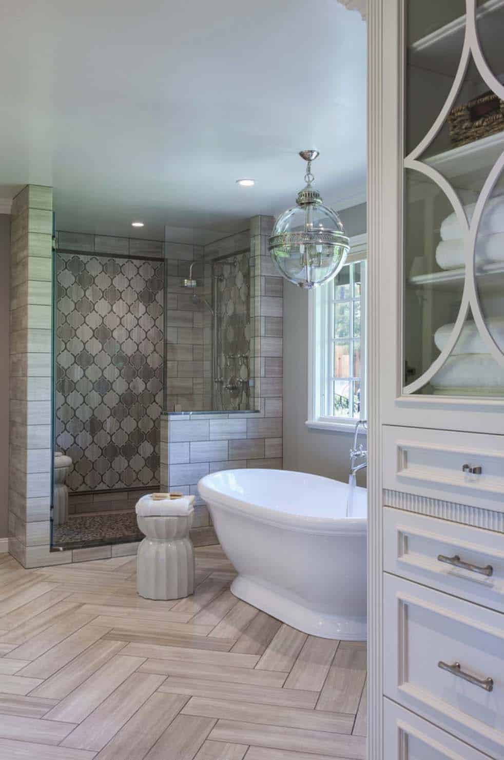 FABULOUS TRADITIONAL STYLE BATHROOM DESIGNS