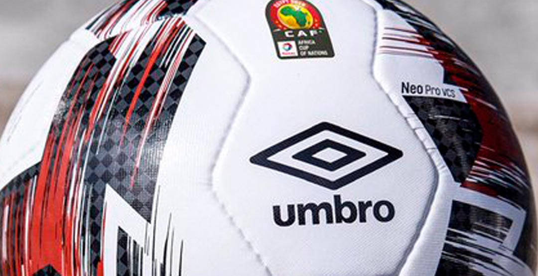 73923dab574 Umbro Neo Pro 2019 Africa Cup of Nations Soccer Ball. Inspired by the  colors of the flag of host nation Egypt, the new Umbro AFCON 2019 football  is white ...