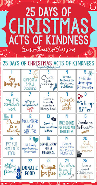 http://creativecleverandclassy.com/christmas-acts-of-kindness.html