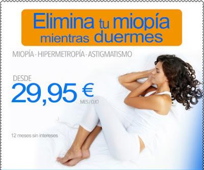 imagen de oferta en tratamiento de miopía