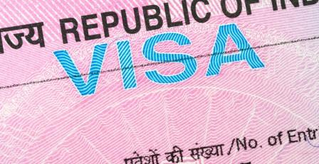 Image Of Indian Visa