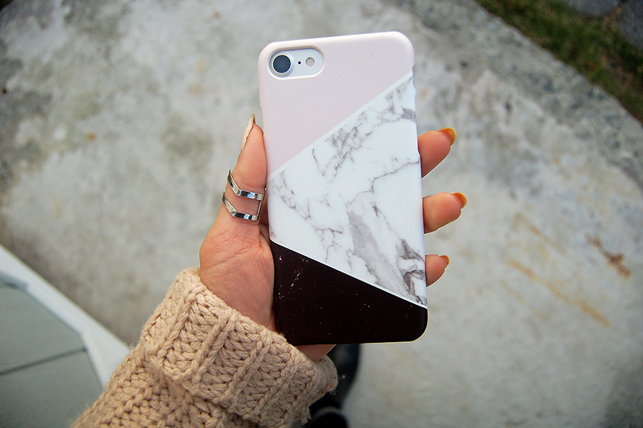 CaseApp Customized iPhone Case Marble