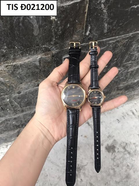 Đồng hồ dây da TIS Đ021200