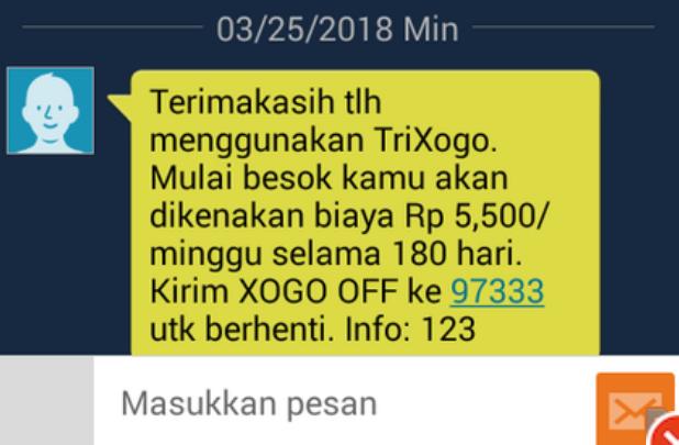 TriXogo Tri SMS