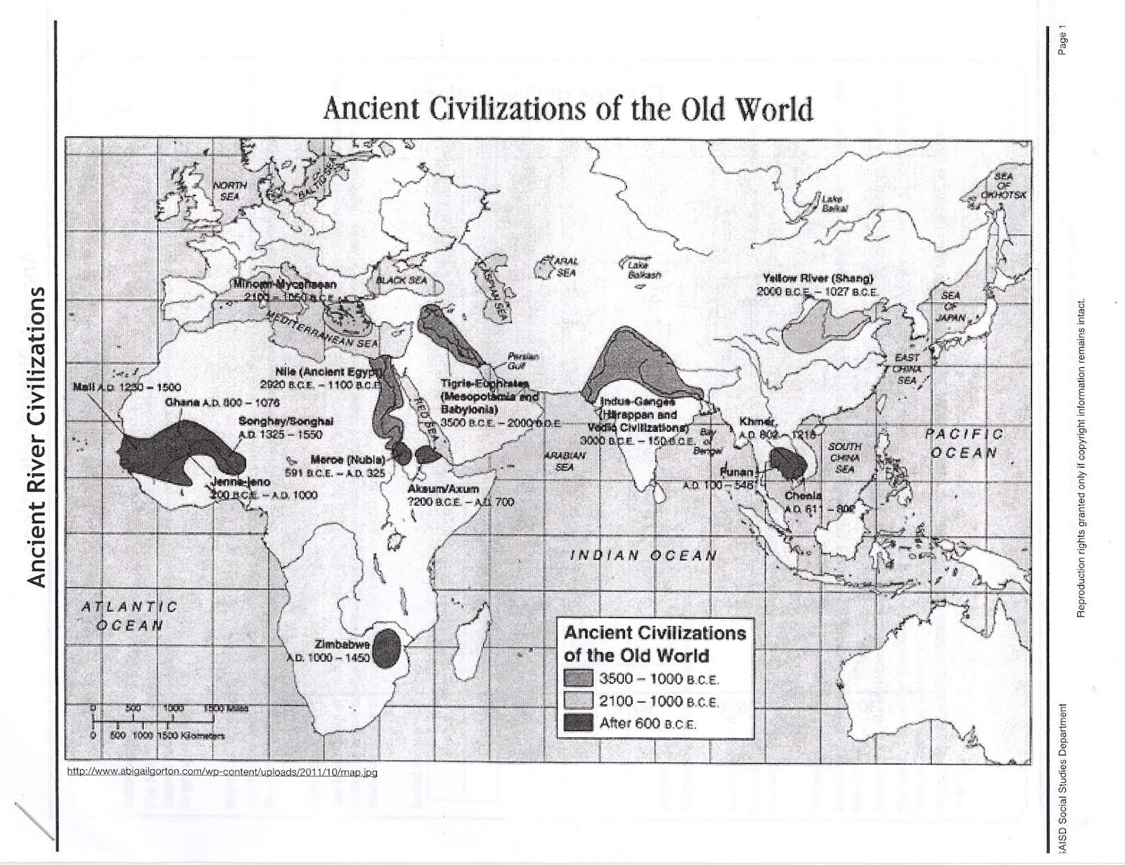Mr E S World History Page October