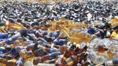 Polres Minsel Amankan Puluhan Liter Miras