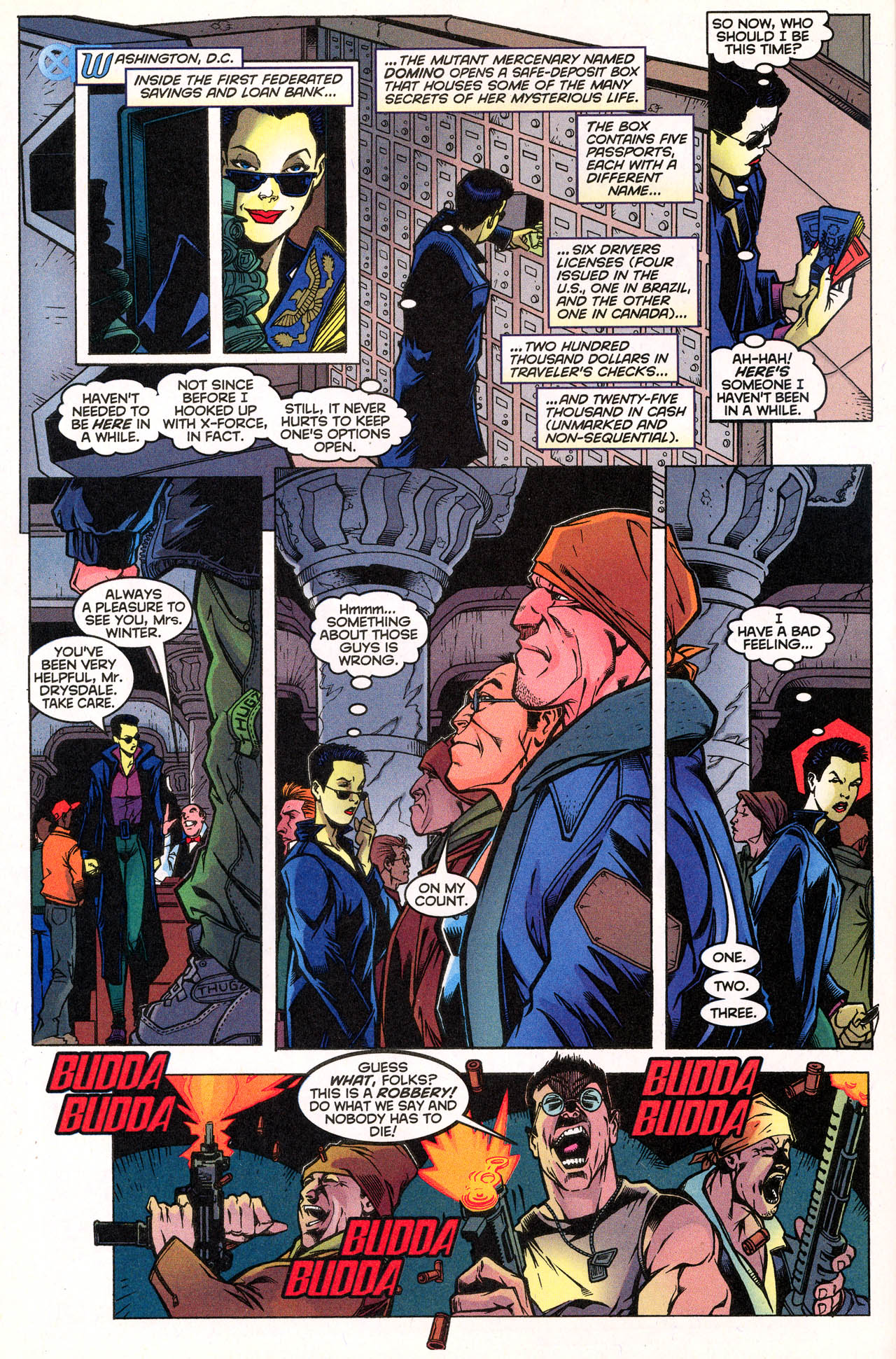 Read online X-Force (1991) comic -  Issue #72 - 16