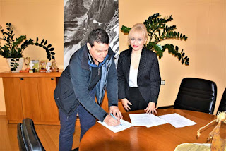 Υπογραφή σύμβασης διαβαθμιδικής συνεργασίας μεταξύ της Περιφερειακής Ενότητας Πιερίας και του Δήμου Δίου – Ολύμπου