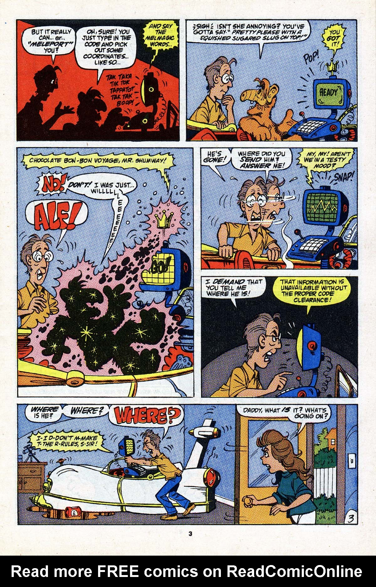 Read online ALF comic -  Issue #23 - 4