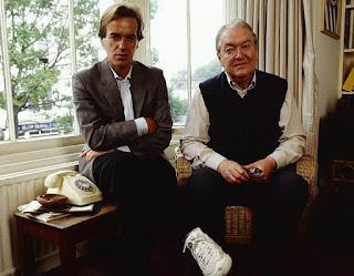 Martin Amis and Kingsley Amis